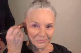 Эта 80-летняя бабушка переплюнула даже визажистов — за неделю её видео набрало миллион просмотров! ВИДЕО