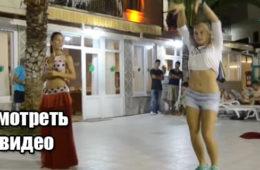 Русская девушка показала арабам как надо танцевать восточные танцы. Потрясающее Видео.