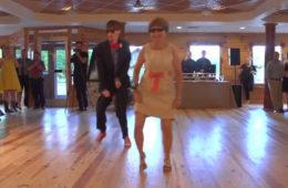 ВИДЕО: Мама жениха зажгла на свадьбе! Такого никто не ожидал!