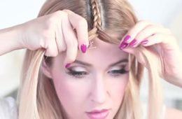 Видео: Одна тонкая косичка полностью изменила ее прическу! Увидев это, ты захочешь повторить…