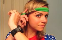 Видео: Девушка собрала волосы на ободке и легла спать. На следующее утро – уникальный и великолепный вид!
