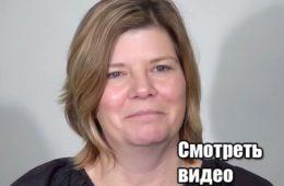 50-летняя женщина сделала очень стильную прическу, на свадьбу сына! Видео